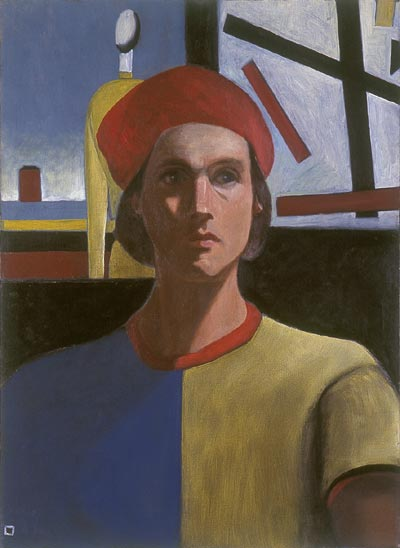 Malevich Portraits: Painting 4